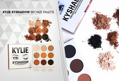 Палетка теней Kylie Kyshadow The Bronze Palette - 9 оттенков