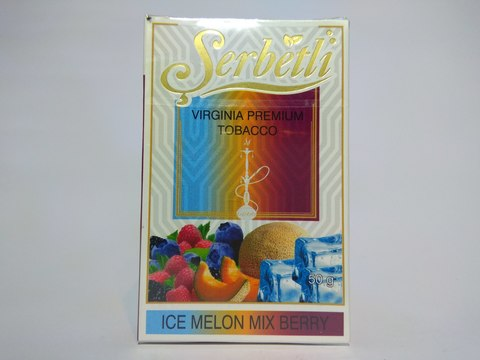 Табак для кальяна SERBETLI Ice Melon Mix Berry 50gr