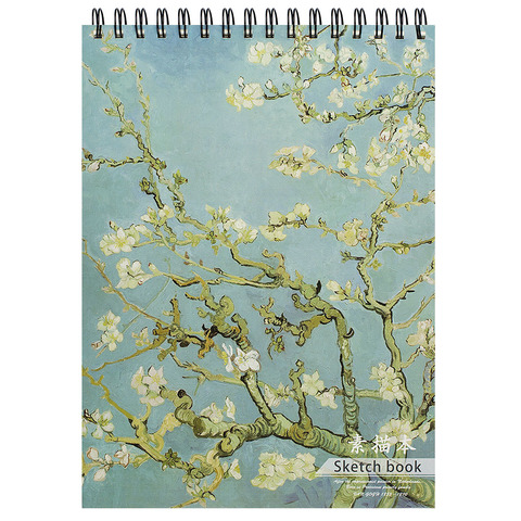 Скетчбук Van Gogh Almond Blossoms