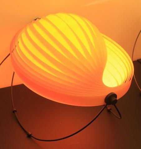 replica MOON  table lamp   yellow