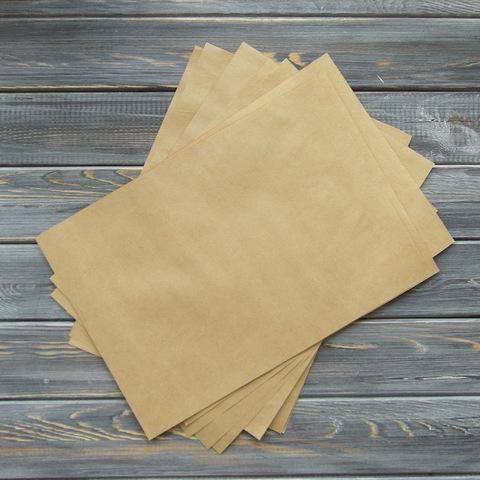 Крафт-бумага в листах А4 (10/100 листов)