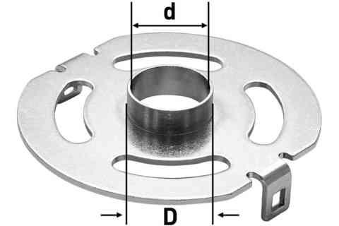 Копировальное кольцо KR-D 17,0/OF 1400