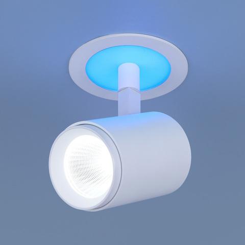 Акцентный светодиодный светильник DSR002 9+3W 6500K Blue