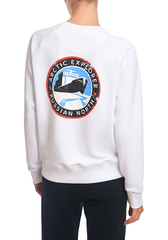 WOMEN'S SWEATSHIRT WITH LOGO