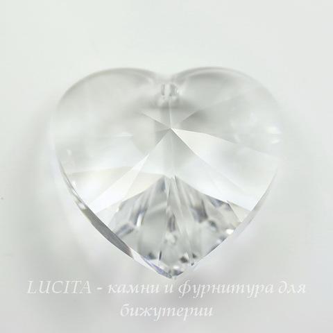6228 Подвеска Сваровски Сердечко Crystal (40 мм) ()
