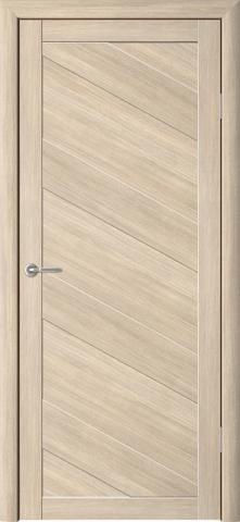 Дверь ALBERO Сингапур-4 (лиственница мокко, глухая экошпон), фабрика Фрегат