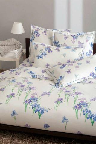 Постельное белье 1.5 спальное Mirabello Iris-1 белое