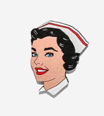 Брошь Медсестра