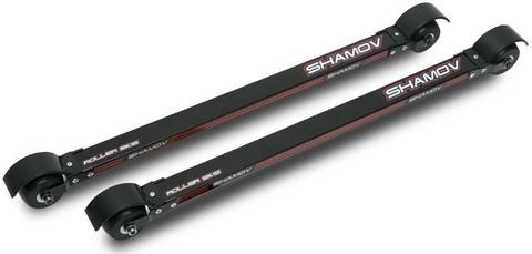 Лыжероллеры классические Shamov 05-1 тип Elpex, каучук, диаметр 74 мм