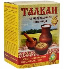 Талкан из пророщенной пшеницы, Сибтар, 500 г.