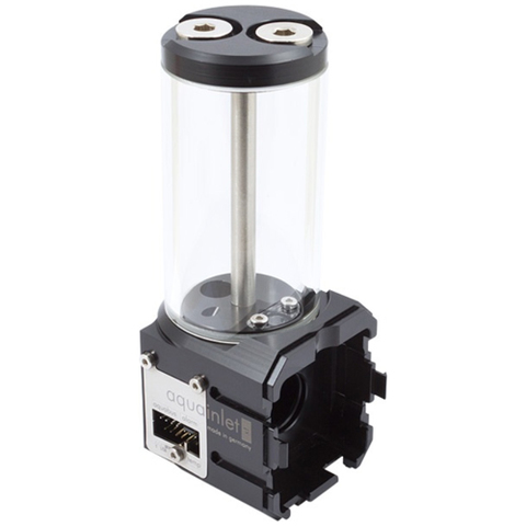 Aqua-Computer aquainlet XT 100 ml with fill level sensor and LED holder, G1/4