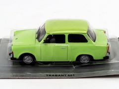 Trabant 601 lime 1:43 DeAgostini Kultowe Auta PRL-u