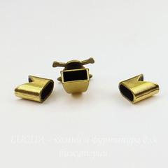 Замок для шнура 5 мм из 3х частей