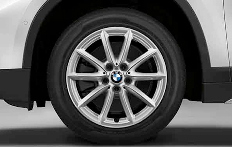 Зимнее колесо в сборе R17 V-Spoke 560 (Goodyear Ultra Grip 8 Performance,нешип) 36112409015 для BMW X1 (F48) 2015- sram twist shifter grip attack 8 9sp right rear