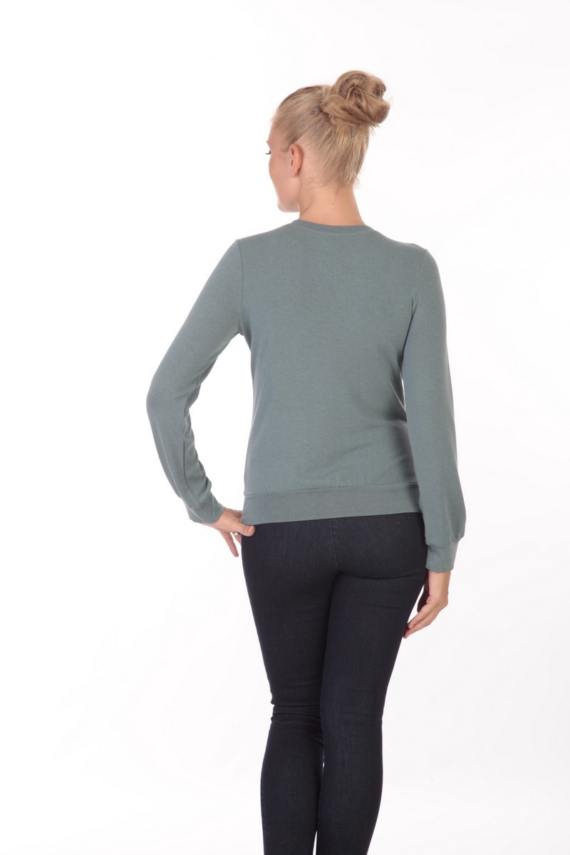 Блузка 01817 зеленый