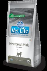 Ветеринарный корм для кастрированных котов FARMINA Vet Life Neutered Male