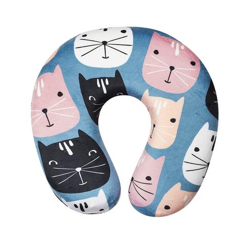Подушка дорожная Cats