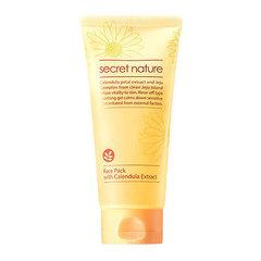 Secret Nature Face Pack With Calendula Extract - Регулярная маска с экстрактом календулы