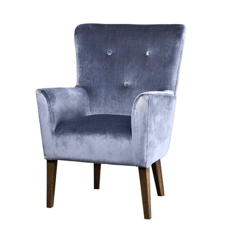 Кресло Roomers Вилона голубое