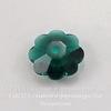 """3700 Бусина - рондель Сваровски """"Цветочек"""" Emerald 10 мм (large_import_files_bc_bc9448e358c011e38b7f001e676f3543_57e8a8225d49420698fcf22eec15a59d)"""