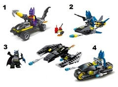 Minifigures Super Heroes Chariot Car Blocks Building Series 07