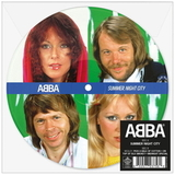 ABBA / Summer Night City + Medley: Pick A Bale Of Cotton + On Top Of Old Smokey + Midnight Special (Picture Disc)(7' Vinyl Single)