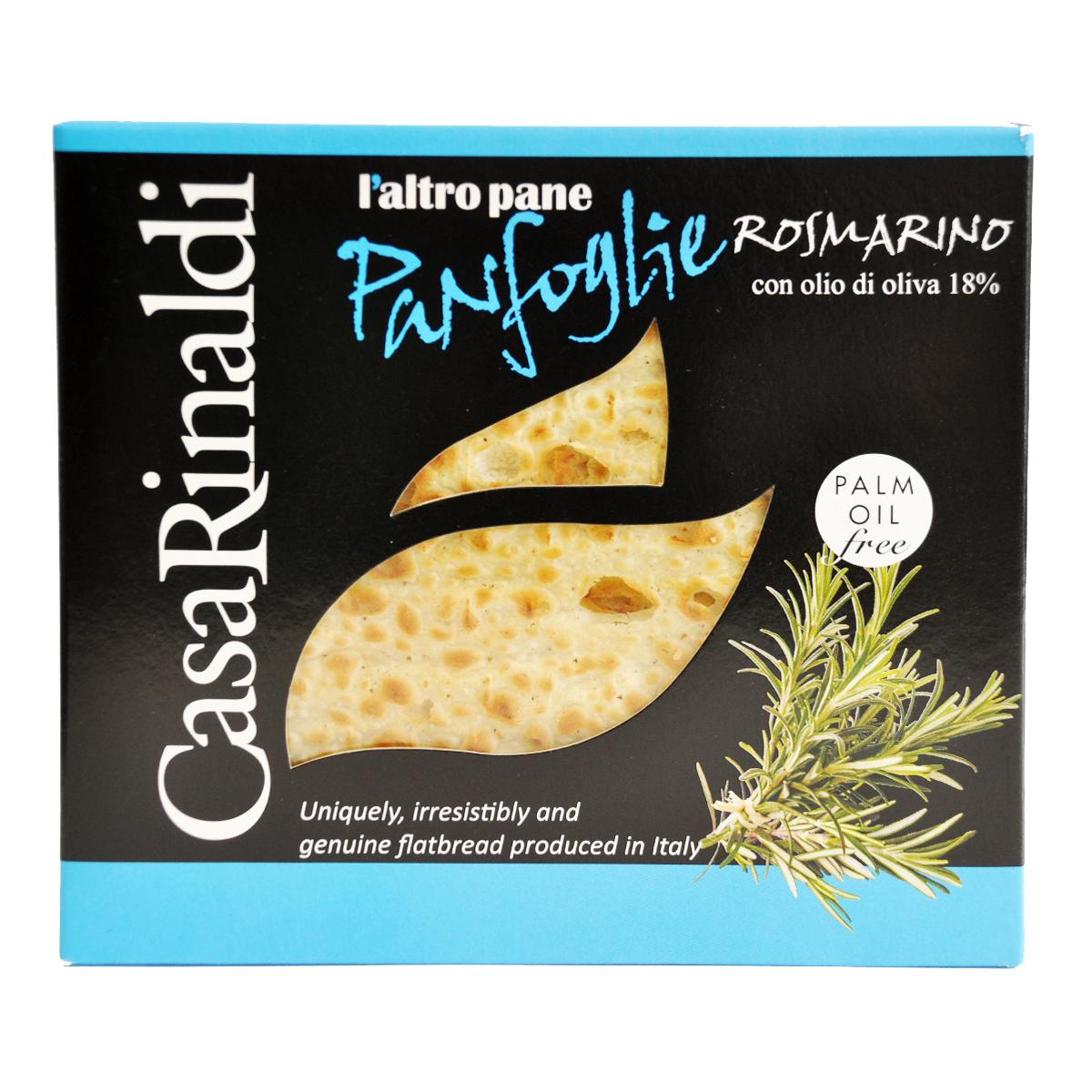Хлебцы Панфолье с розмарином Casa Rinaldi 100 г