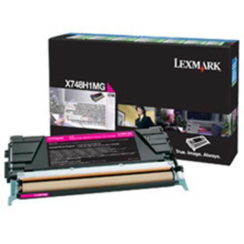 Картридж для принтеров Lexmark X746/X748 пурпурный большой ёмкости (magenta). (X748H2CG)