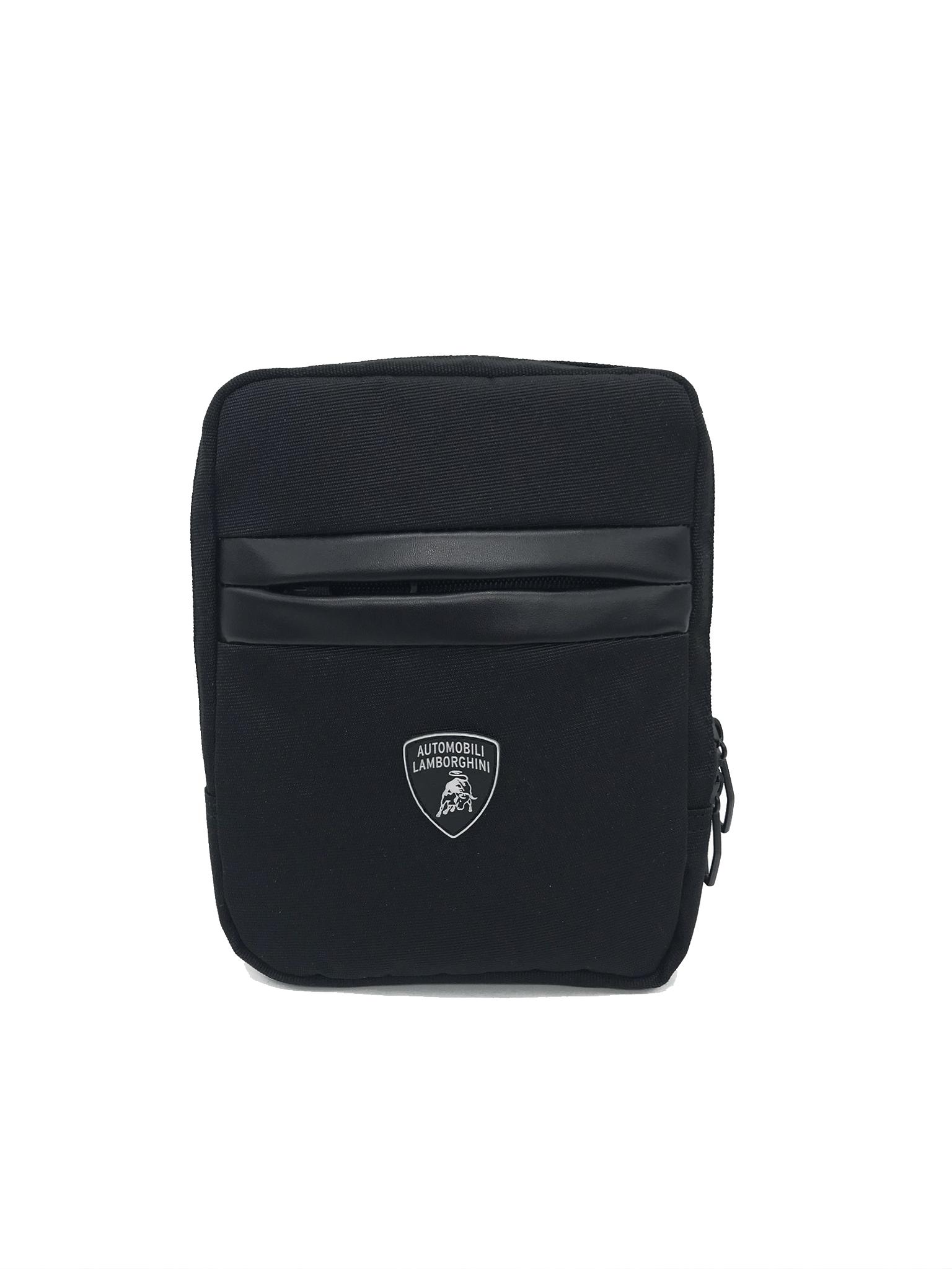 Сумка через плечо Lamborghini Essential, black