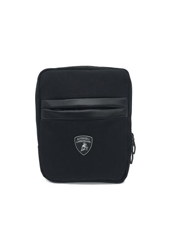 Сумка через плечо Lamborghini Essential, black, фото 2