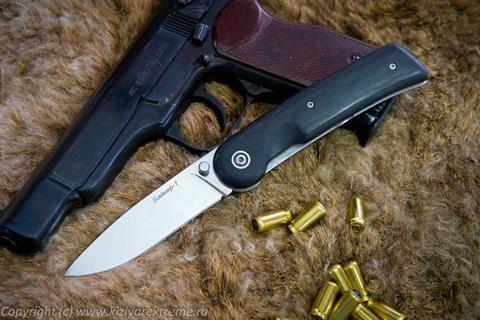 Складной нож Байкер-1 Полированный Микарта