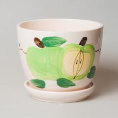 Горшок с яблоками , арт. 12803-2