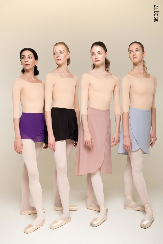 Пошив для классов. Шифоновые юбки