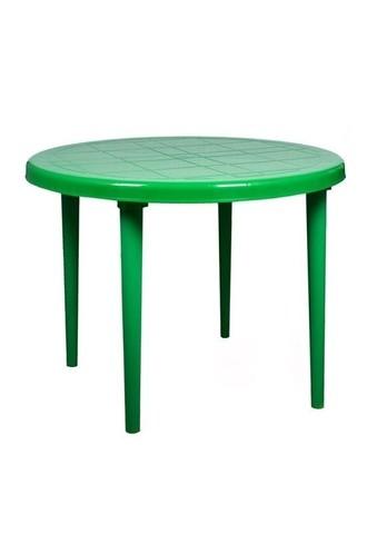 Стол круглый д-900. Цвет: Зеленый