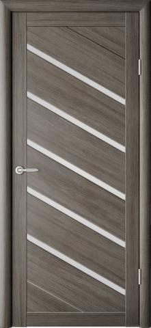 Дверь ALBERO Сингапур-5  (серый кедр, остекленная экошпон), фабрика Фрегат
