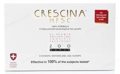Комплекс - Лосьон для стимуляции роста волос для женщин №10 + Лосьон против выпадения волос №10, 200  (Labo | Crescina Re-Growth HFSC 100% + Crescina Anti-Hair Loss HSSC 200), 10 х 3,5 мл + 10 х 3,5 мл