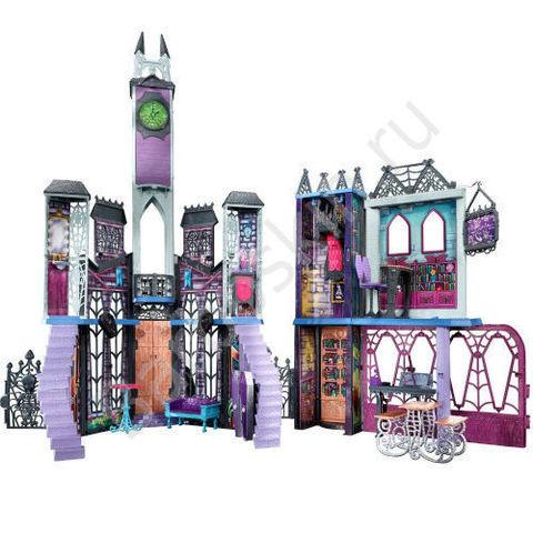 Игровой набор Дэдлюкс Школа Монстров - Deadluxe High School, Mattel