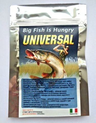 Активатор клева Big Fish is Hungry universal оптом