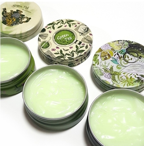 Увлажняющий крем для лица с экстрактом зеленого чая, 35 г/ 200 г / SeaNtree Green Tea Deep Deep Deep Cream