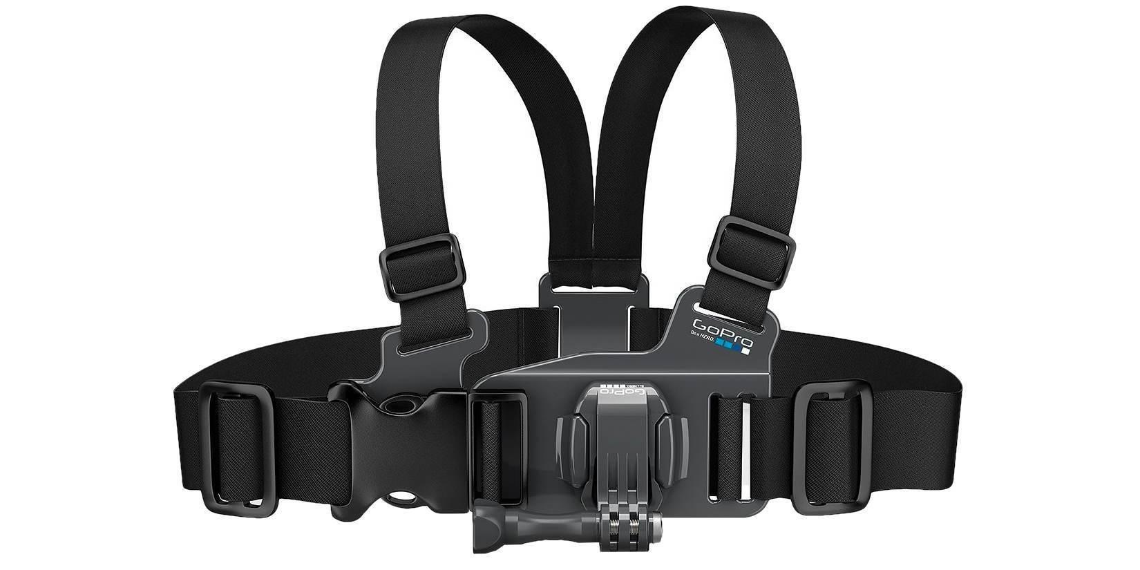 Детское крепление на грудь GoPro Jr. Chesty: Chest Harness (ACHMJ-301) вид спереди