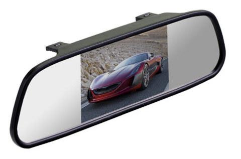 Зеркало Silverstone F1 Interpower со встроенным монитором 5