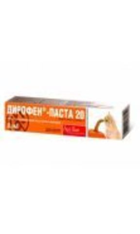 Diropen Paste 20 for adult cats (7 ml)
