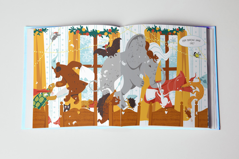 Книжка-раскраска