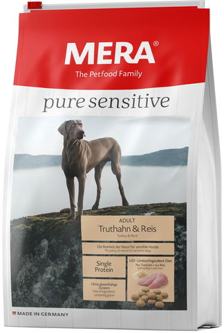 Mera Pure Sensitive Adult Truthahn&Reis