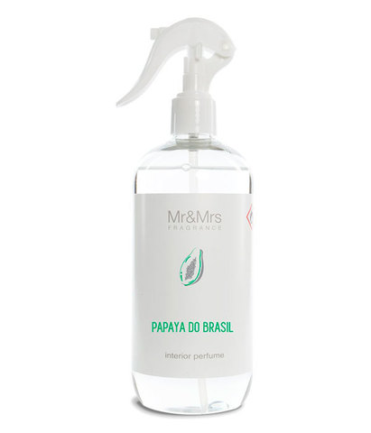 Спрей для дома и текстиля BLANC №21 Бразильская папайя, Mr&Mrs Fragrance