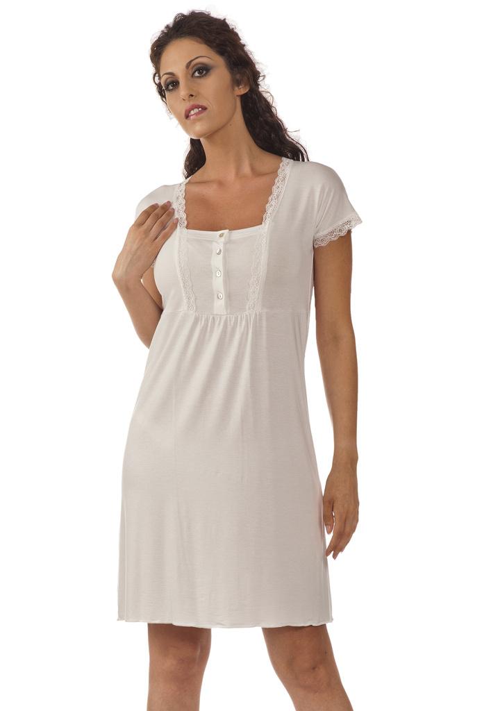 Стильная ночная сорочка B&B (Домашние платья и ночные сорочки)