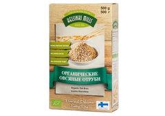 Отруби Helsinki Mills органические овсяные, 500г