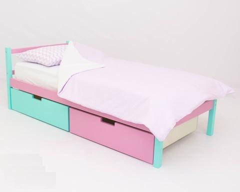 Кровать ФОРЕСТ мятный-лаванда