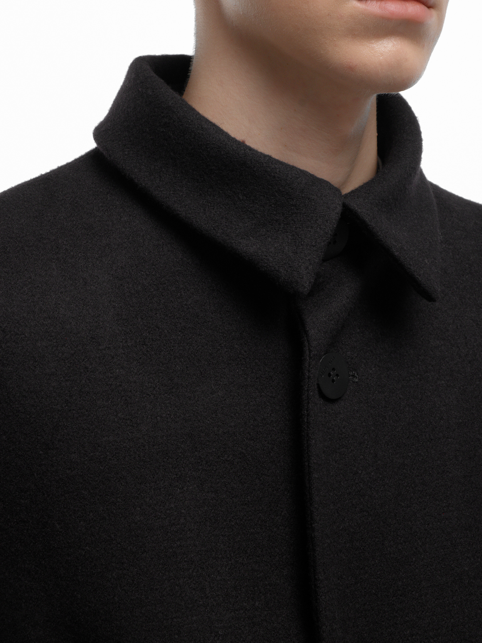 Пальто с поясом