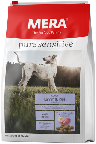 Mera Pure Sensitive Adult Lamm&Reis